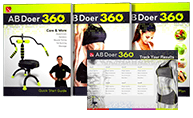 Ab Doer 360 Instructional Guides and Tracking Calendar