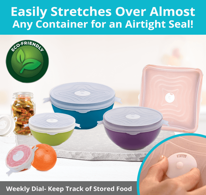 Unilid Stretchable Airtight lids