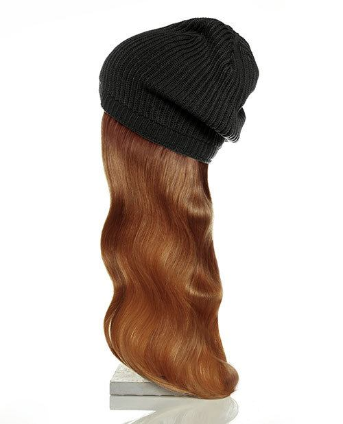 black hat red hair