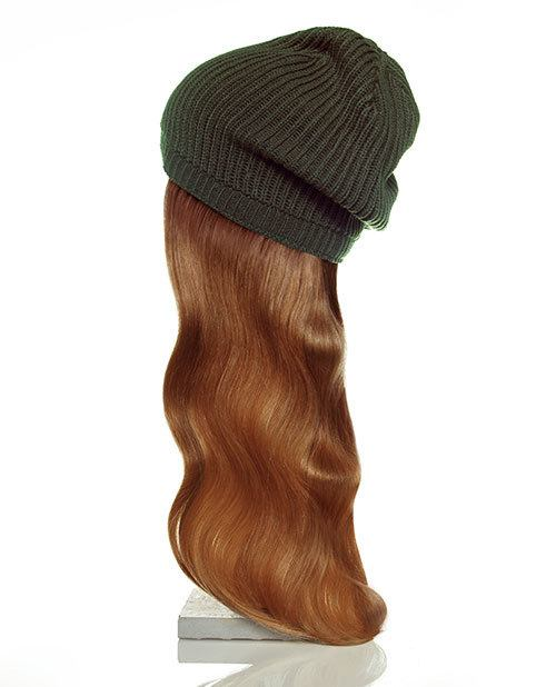 green hat red hair