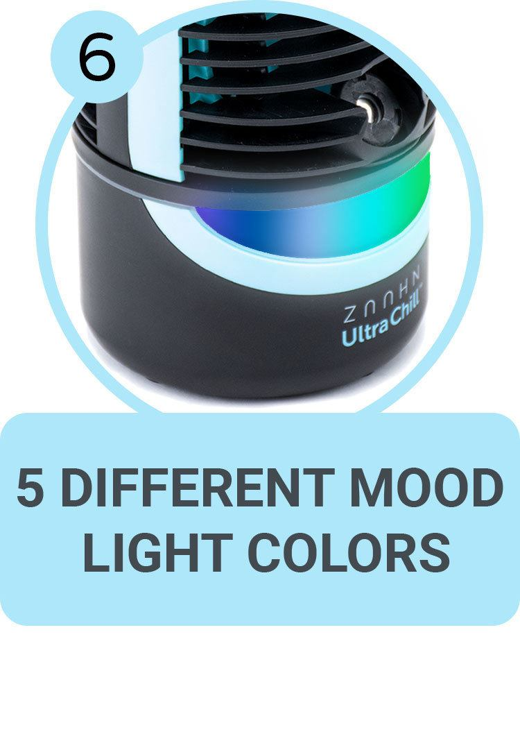 5 Different Mood Light Colors