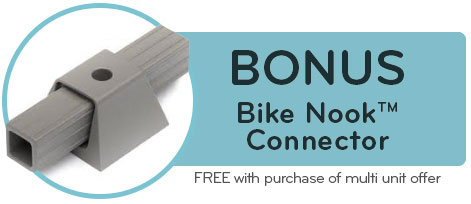 BONUS Bike Nook Connector – FREE with purchase of multi-unit offer