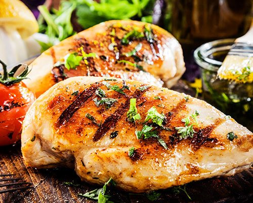 Healthy – cooking grease and oils drain away during grilling