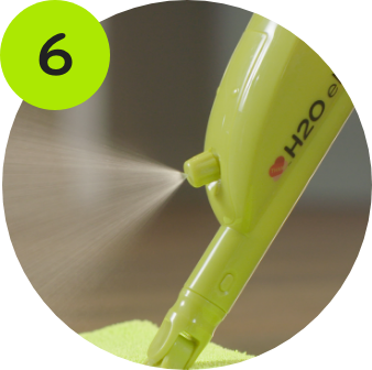 Spraying S-Water with the Jet Nozzle