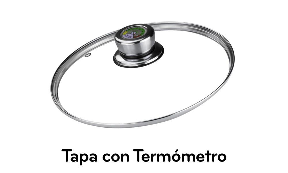 Tapa con Termómetro
