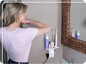 using in bathroom