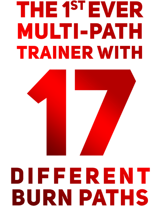 The 1st ever multi-path trainer with 17 different burn paths