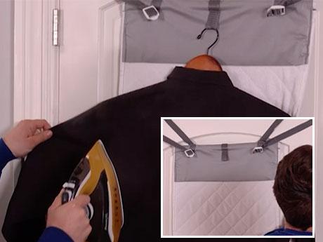 steamer pad- hang on door