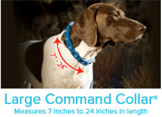 Large Command Collar® Measure 7 inches to 24 inches in length