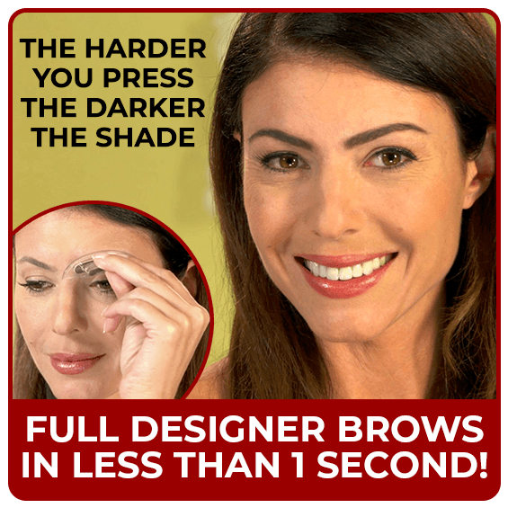 Full Designer Brows in Less Than One Second