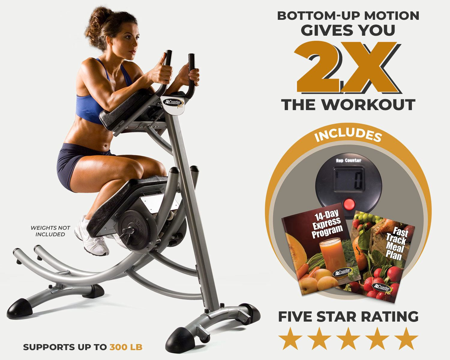 offer includes rep counter, 14 day express program, fast track meal plan
