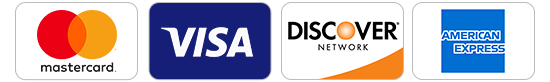 Mastercard –Visa –Discover –American Express