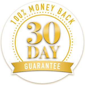 30 Day Money Back Guarantee Badge