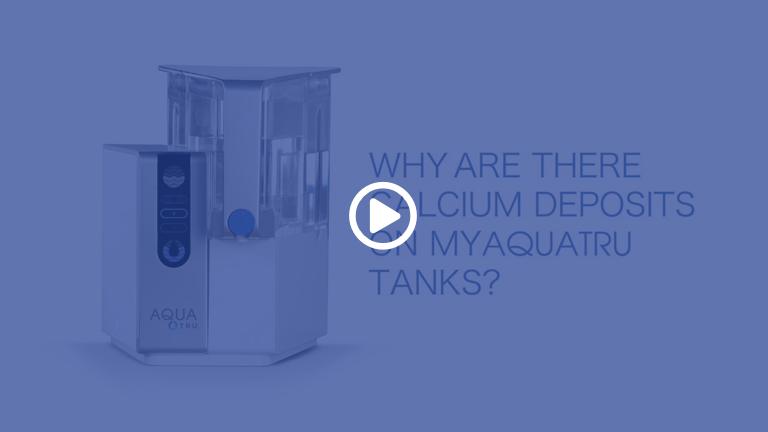 AquaTru Additional Clean Water Tank