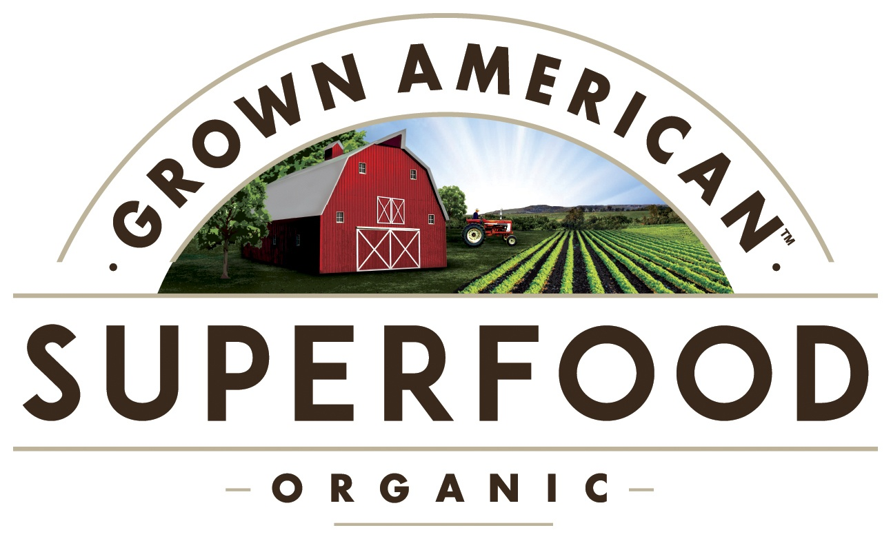 Grown American Superfood Logo
