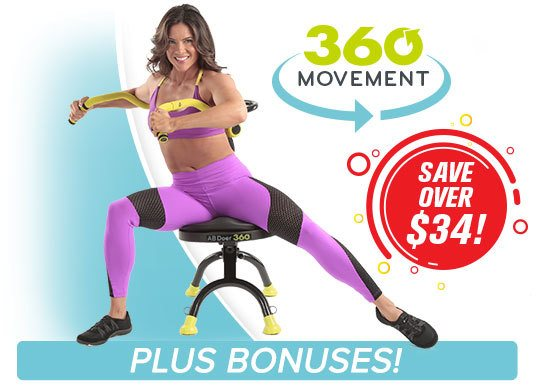 SAVE OVER $34 – 360° Movement