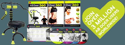 The Abdoer 360 Kit - Join over 3 Million Ab Doer Users Worldwide!